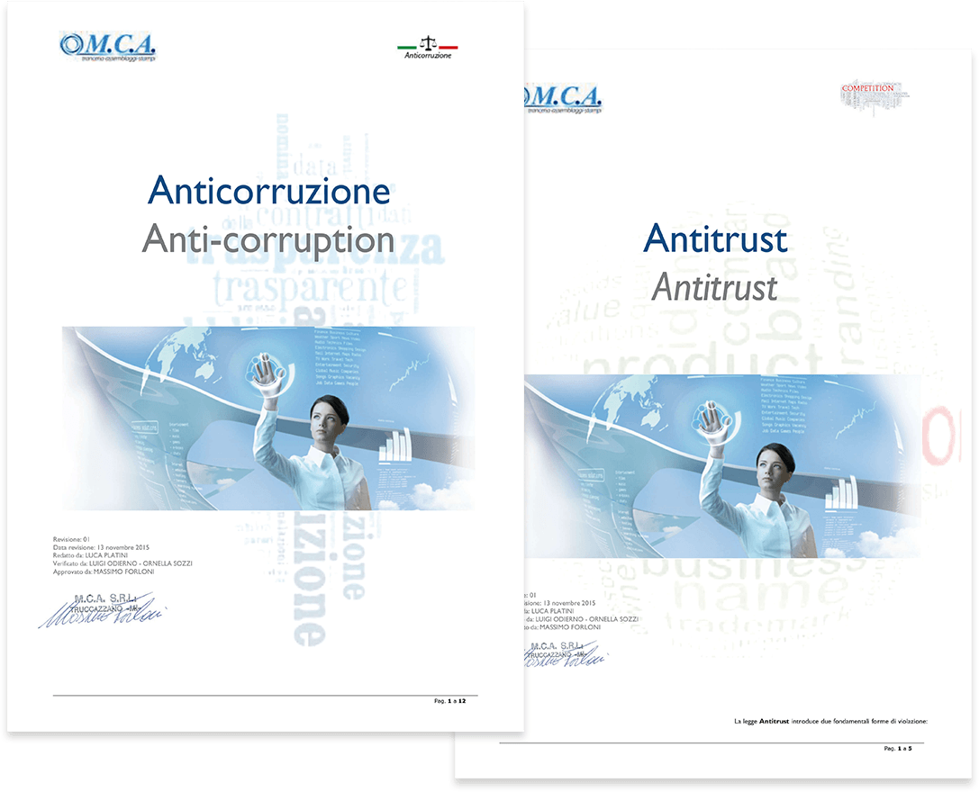 MCA Anticorruption and Antritrust